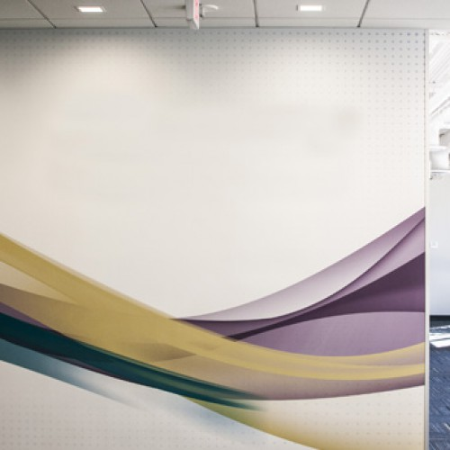 Decorative film for walls & interior surfaces