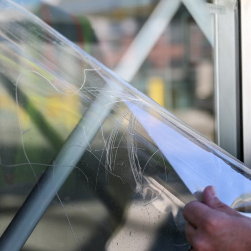 Glass Shield - Anti Graffiti Window Film