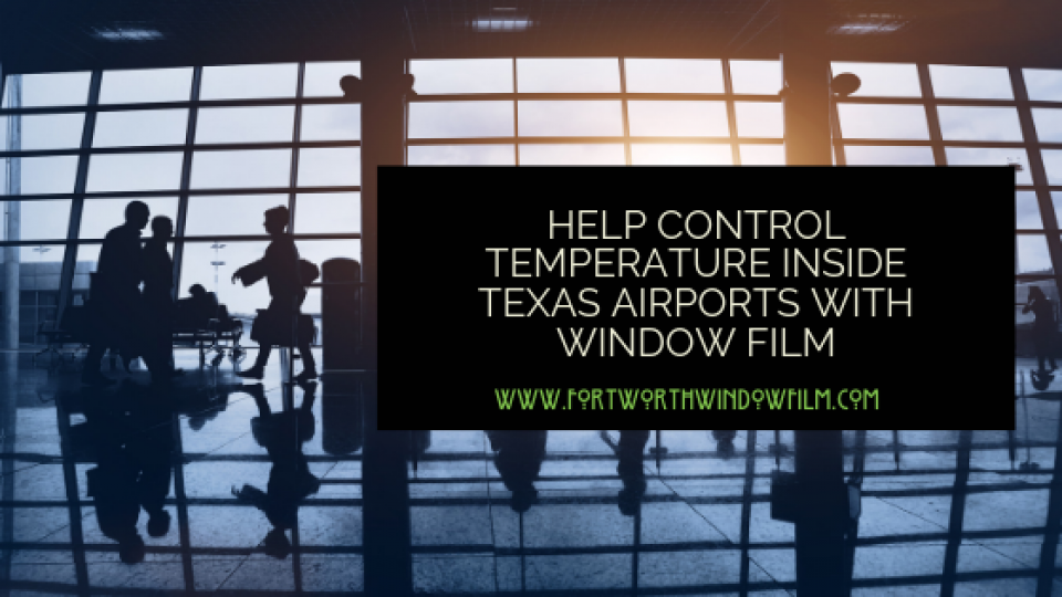 airport temperature control Fort Worth